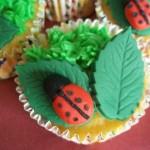 Spring Ladybird Cupcakes