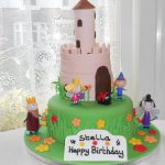 fairy castle novelty cake