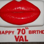 lips novelty cake