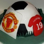 Man United Birthday Cake