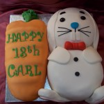 18th Birthday Carrot Cake