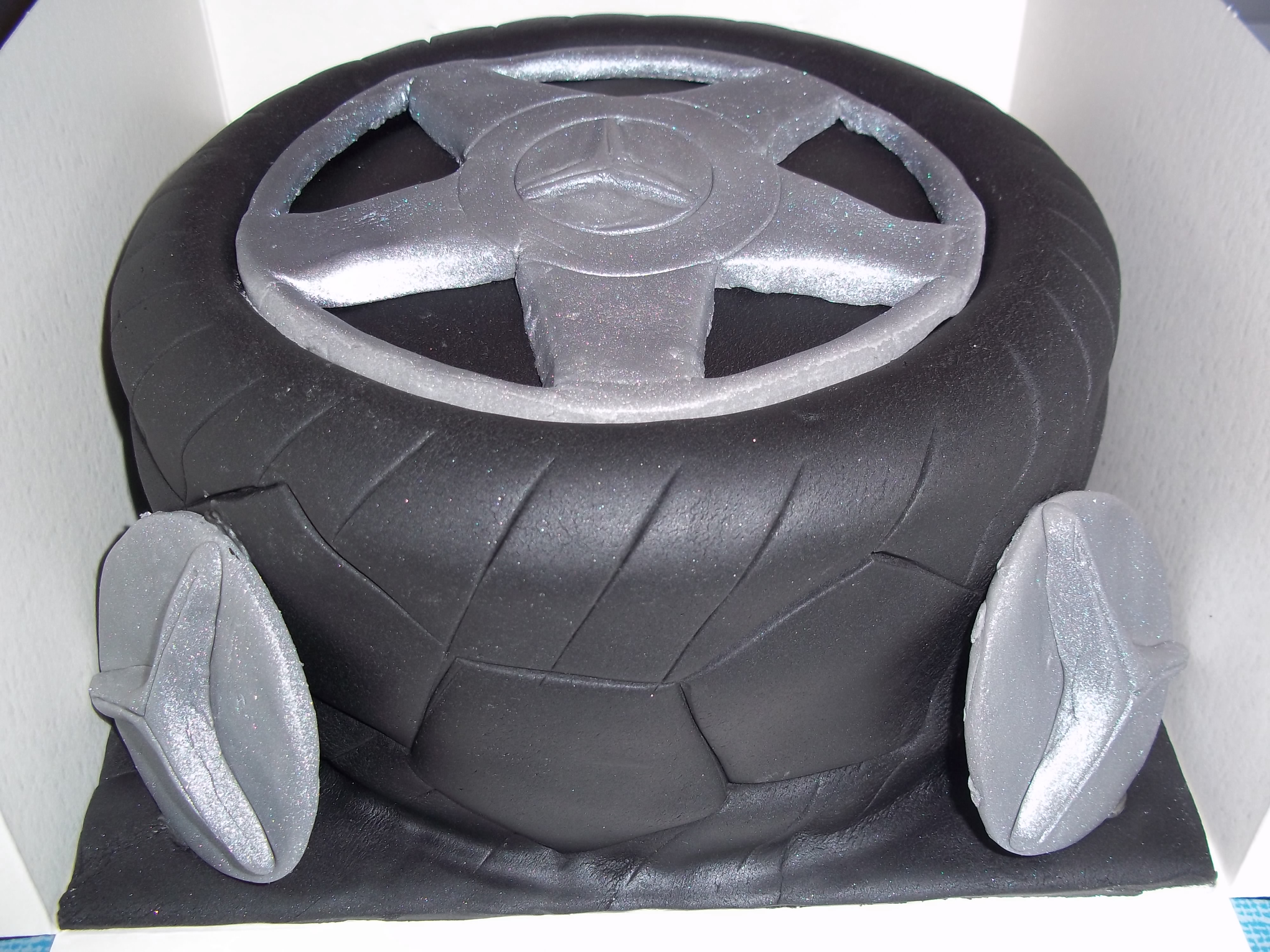 Bmw Tyre Cake Jan S Occasional Cakes