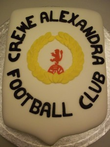 CAFC Supporters Cake