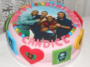 Candices JLS cake