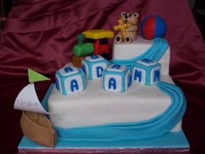 Christening Cake for Adam