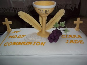 Ciara's First Communion Cake