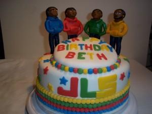 JLS  cake