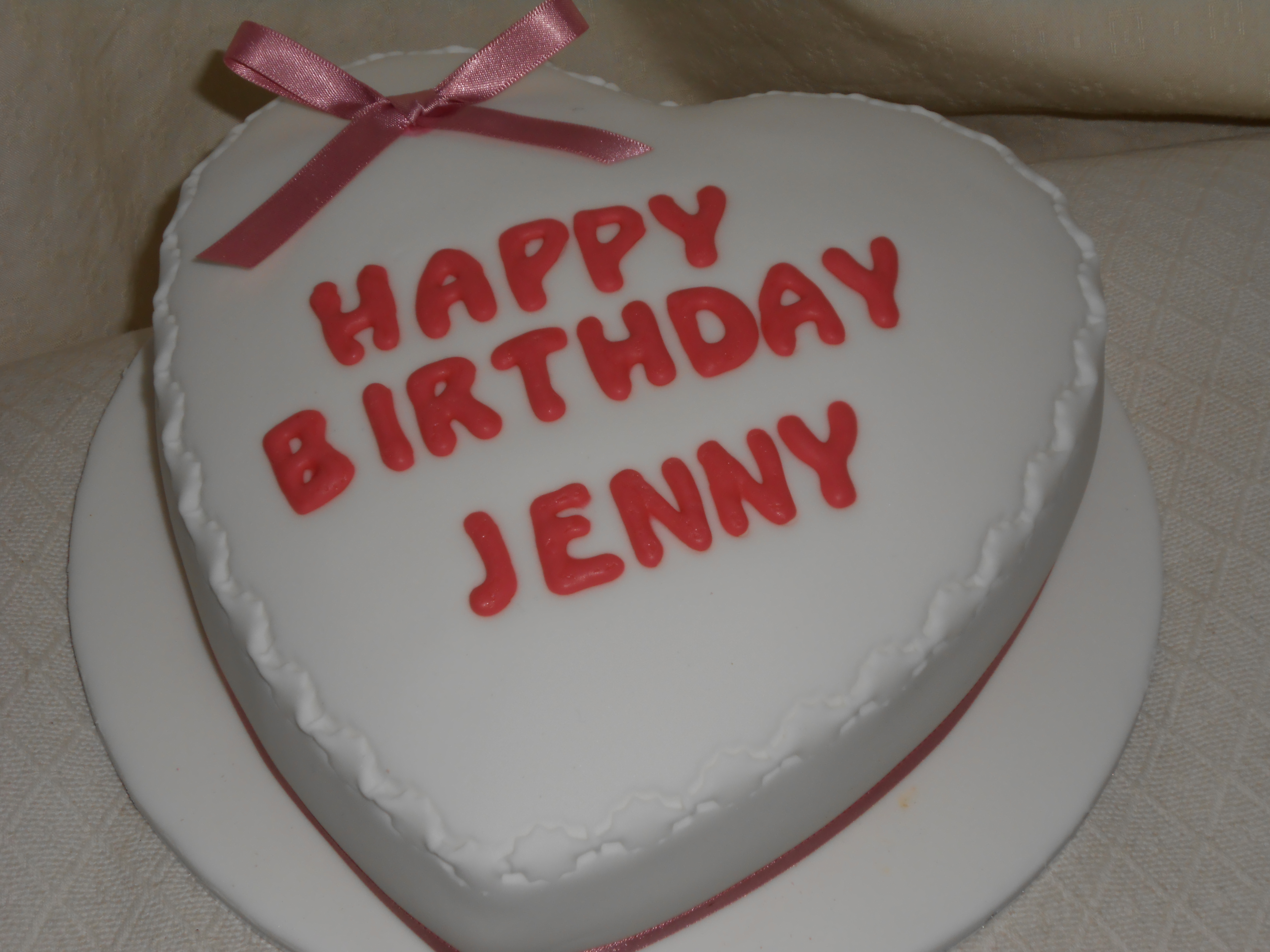 Jenny Bday Cake Jan S Occasional Cakes