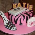 Katies Fashionista Birthday Cake