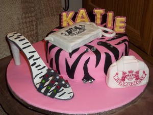 Katies Fashionista Birthday Cake