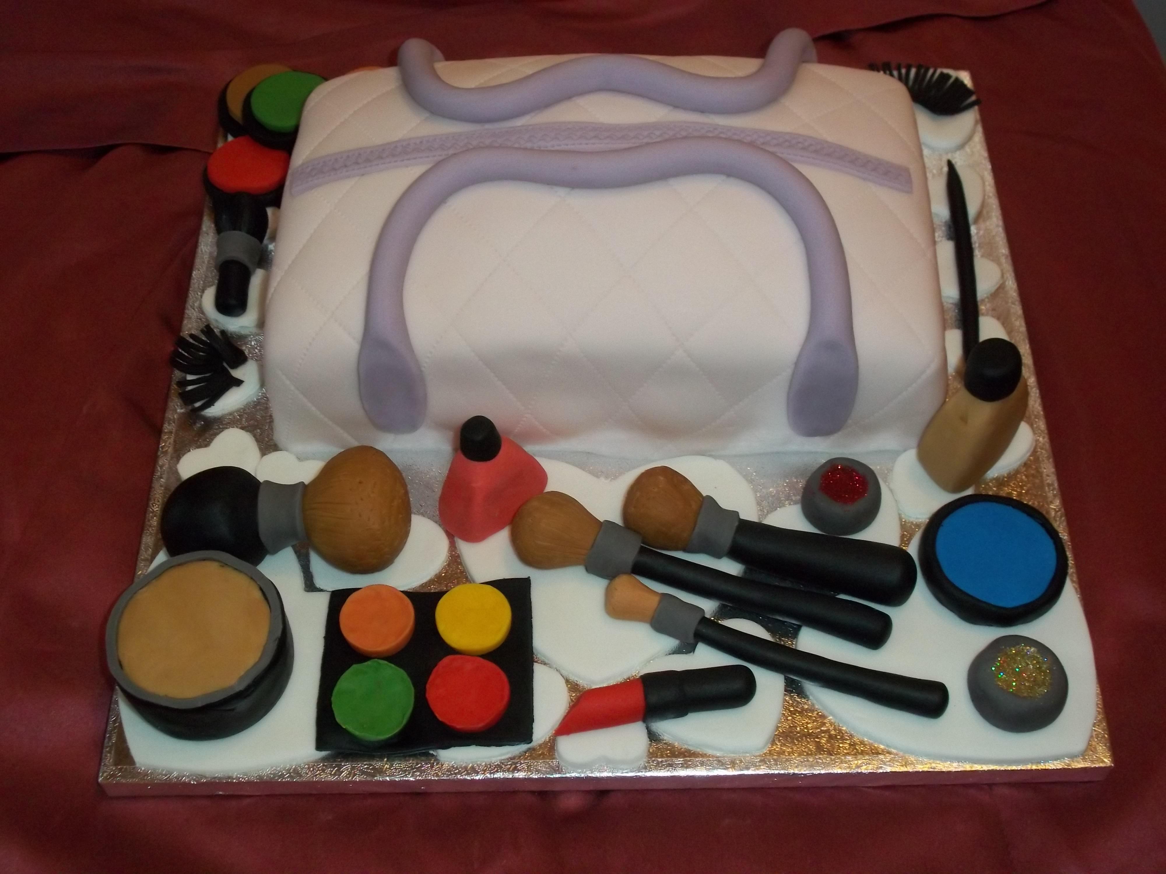 Make Up Birthday Cake Jans Occasional Cakes