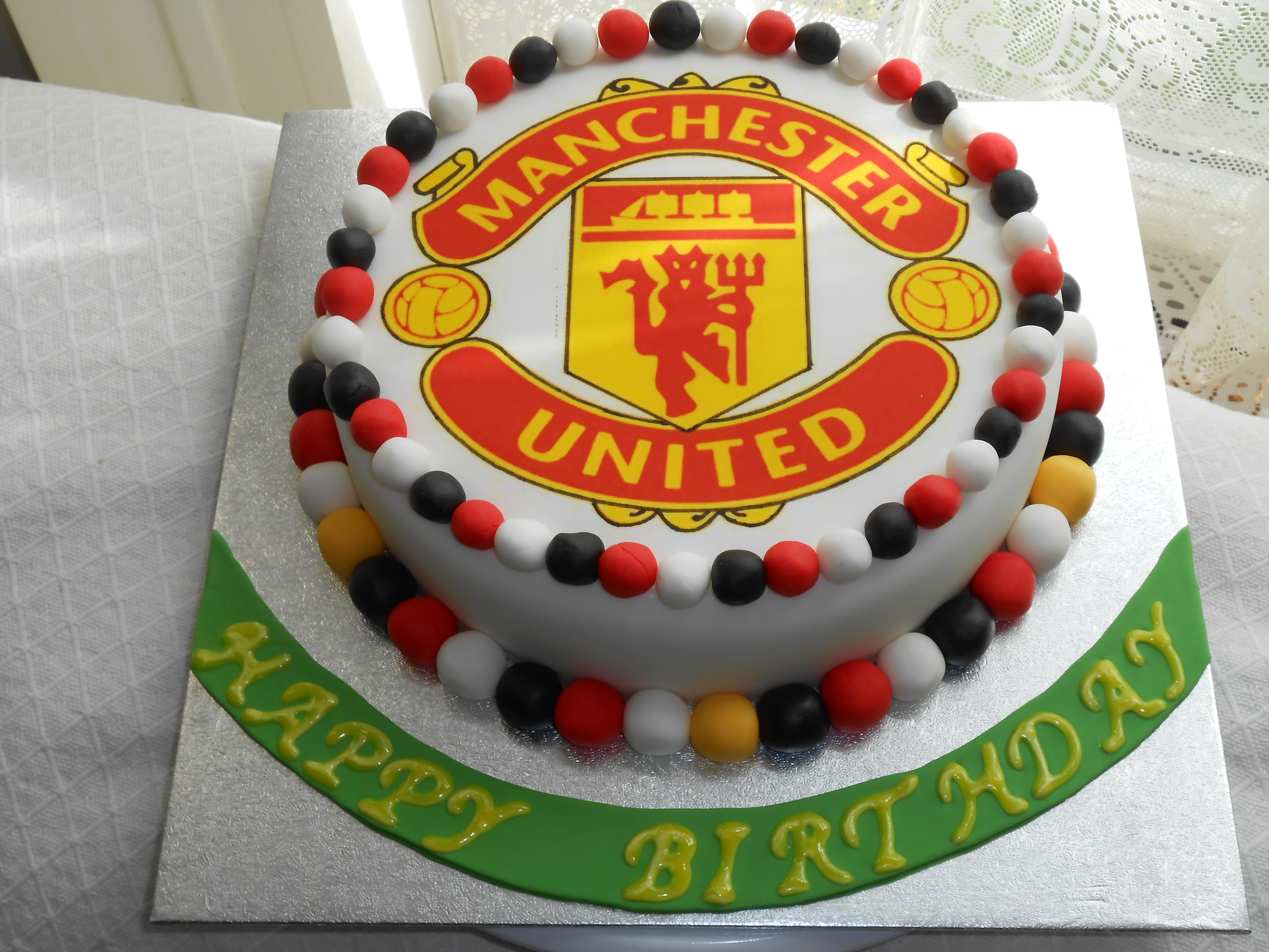 Dinosaur Birthday Cake Underwater Man United
