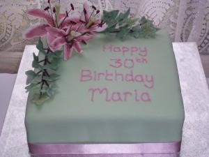 Maria's 30th