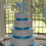 R&S wedding cake