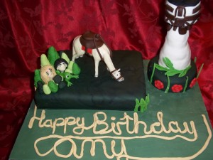 Tangled Cake including Maximus