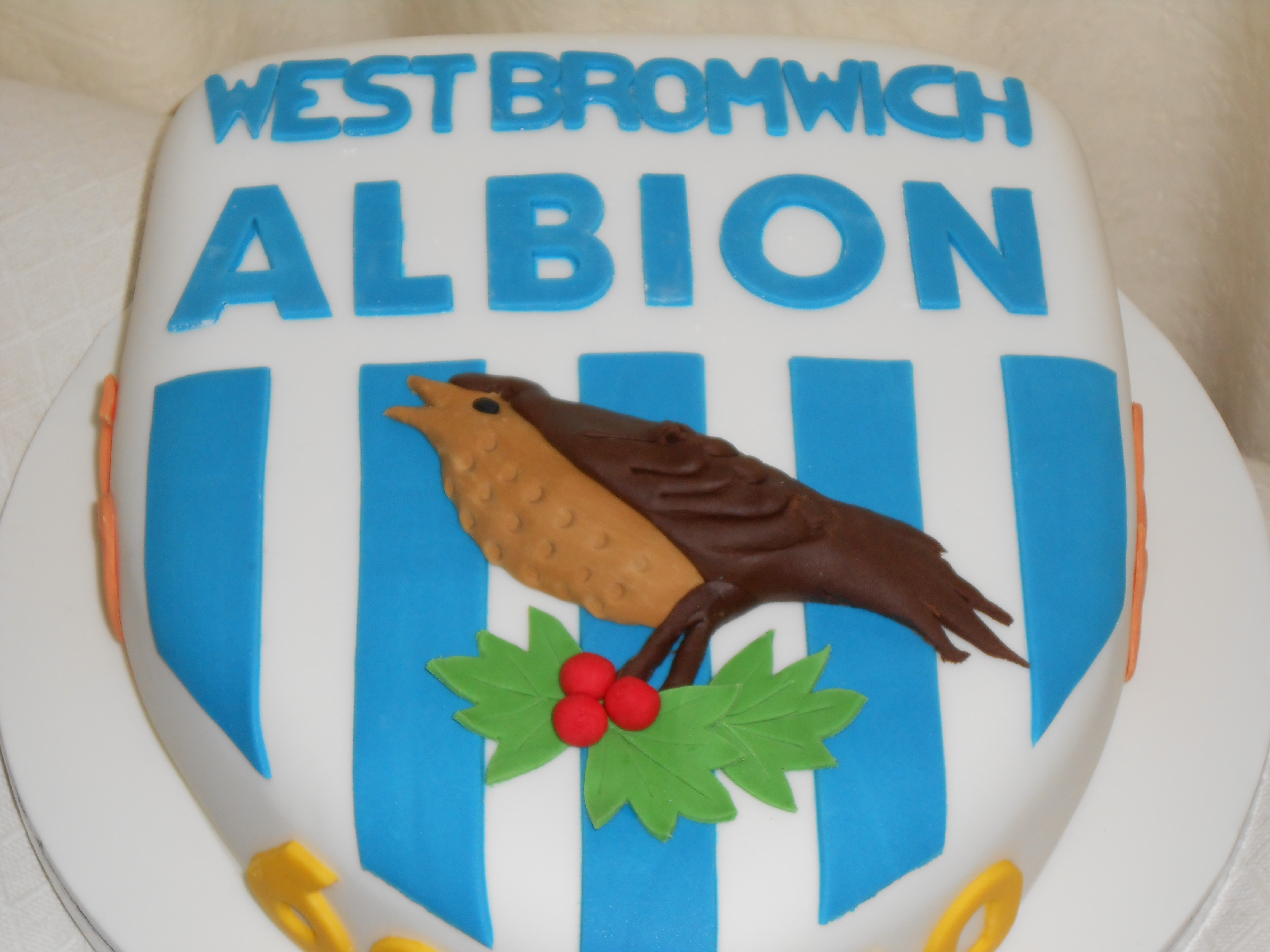 West Brom 60th Birthday Cake Jan S Occasional Cakes