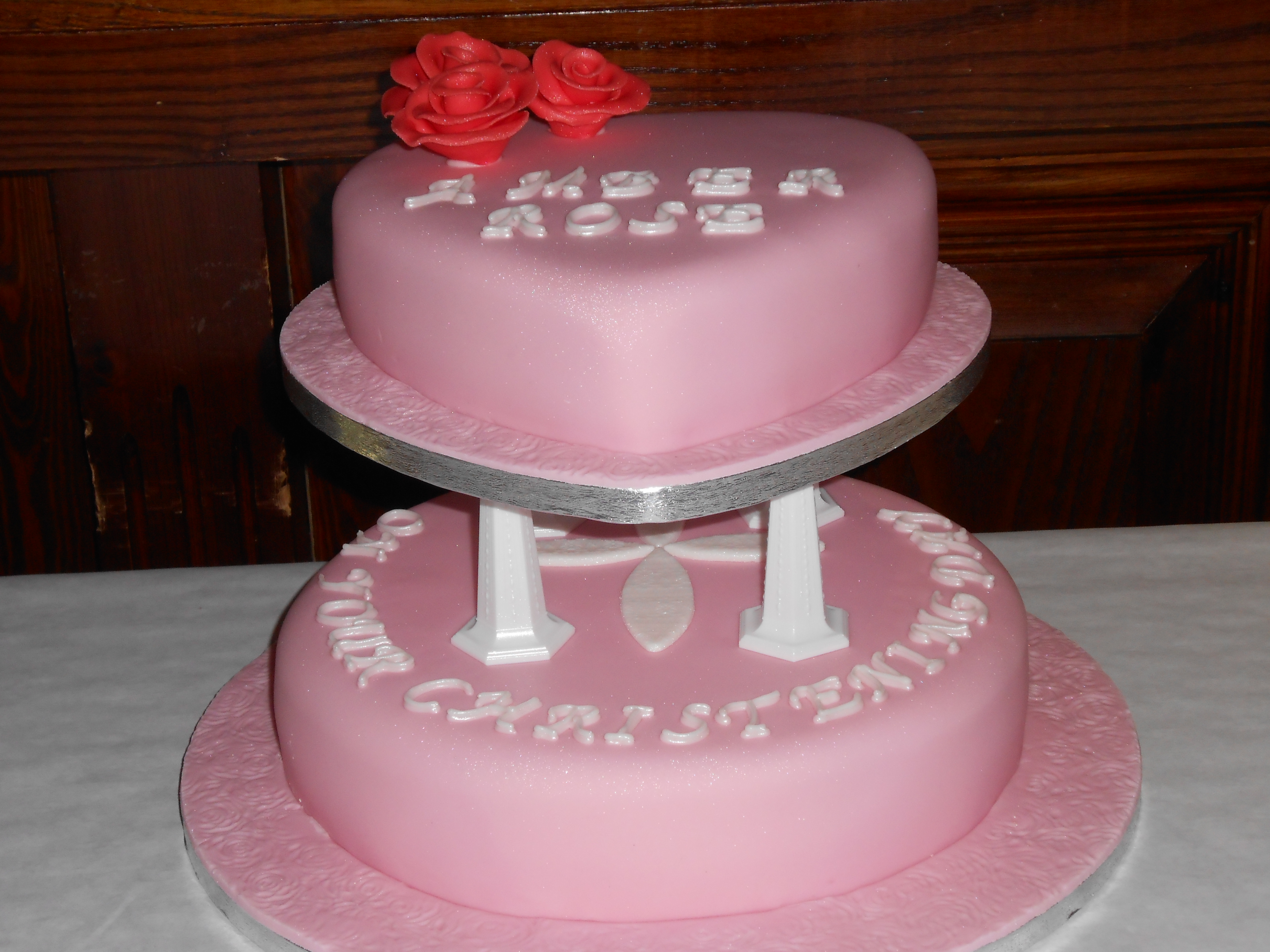 Ambers Christening Cake Jan S Occasional Cakes