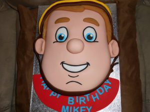 fireman sam novelty cake