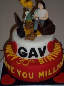 Gav's 30th Birthday Cake