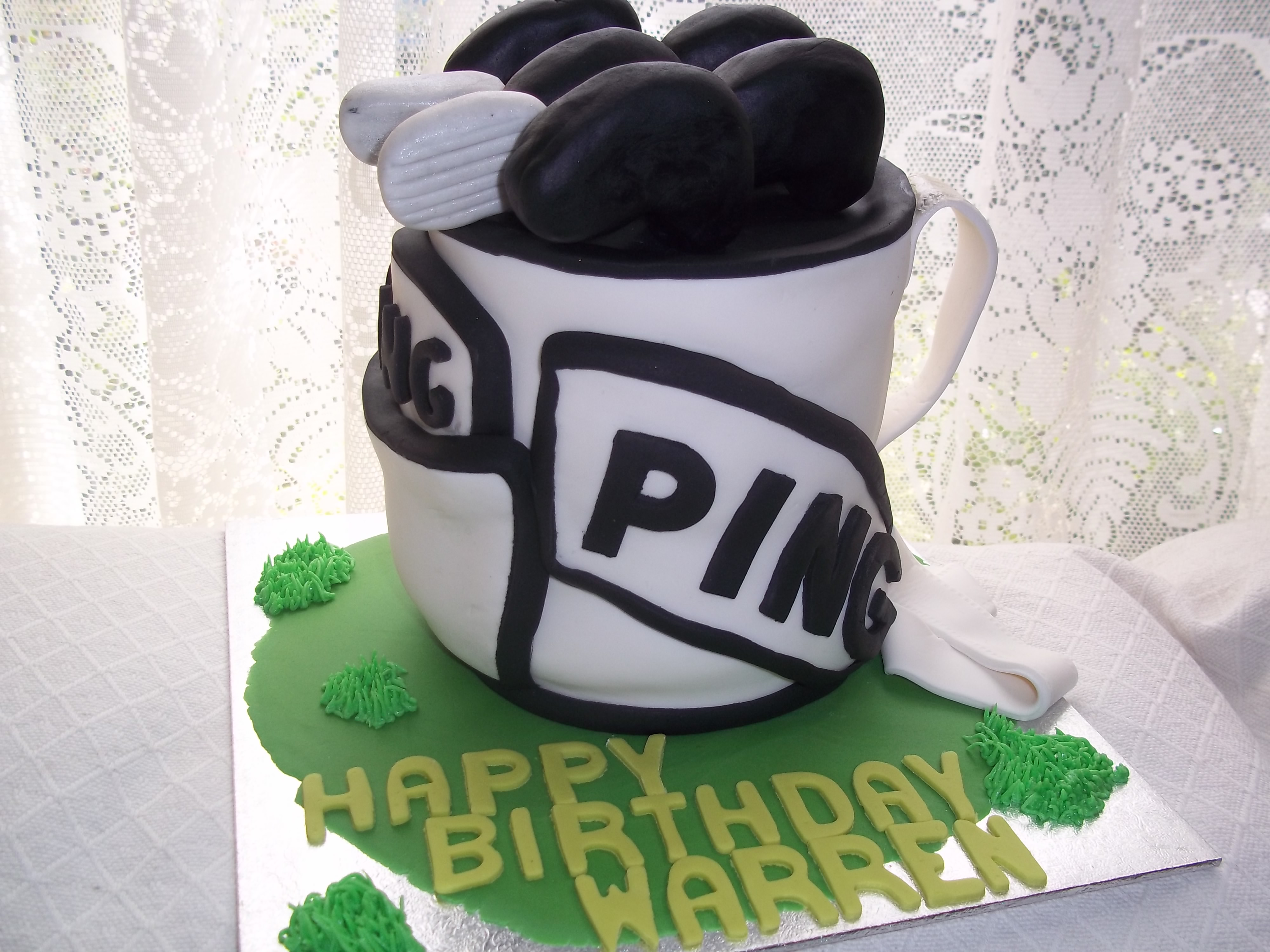 Golfbag Cake Jans Occasional Cakes
