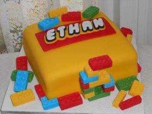 lego novelty cake