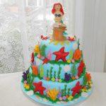 under the sea novelty cake