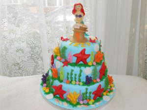 under the sea novelty cake