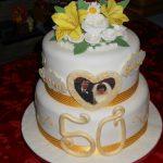 K&B anniversary cake