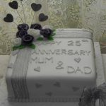 M&D anniversary cake