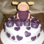 Mia's Christening cake