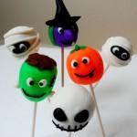 X Halloween Cake Pops