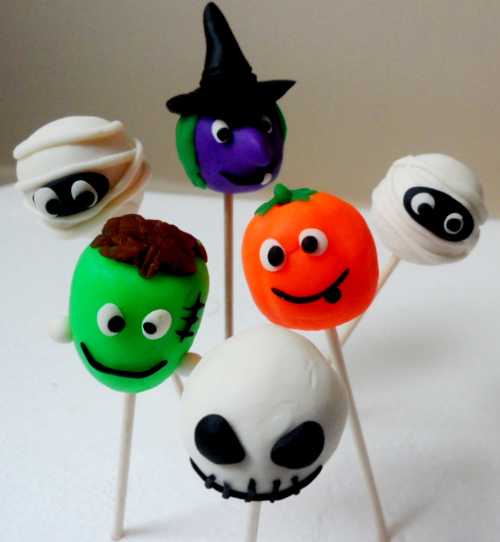 How To Make Halloween Cake Pops Uk