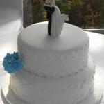 Ben and Ciorstaidh Wedding Cake