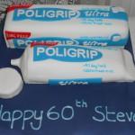 Polygrip cake
