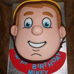 fireman sam novelty cake