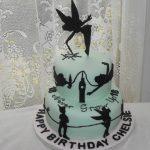 tinkerbell novelty cake