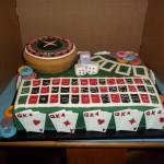 Casino Wedding Cake