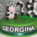 Georgina's cow