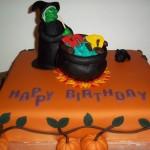 Halloween Bday Cake