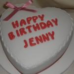 Jenny bday cake
