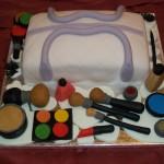 Make up Birthday Cake