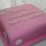Nerys's Christening cake