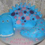 dinosaur novelty cake