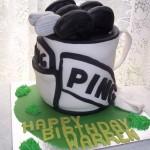 golfbag cake